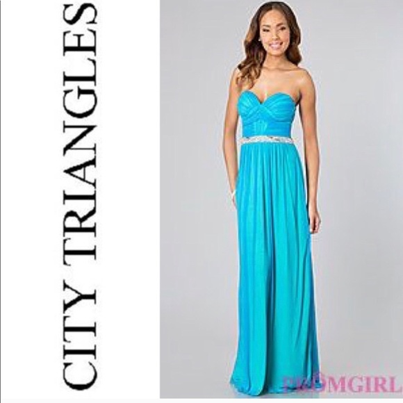 28c2053f0c4e City Triangles Dresses | Nwot City Triangle Prom Dress | Poshmark